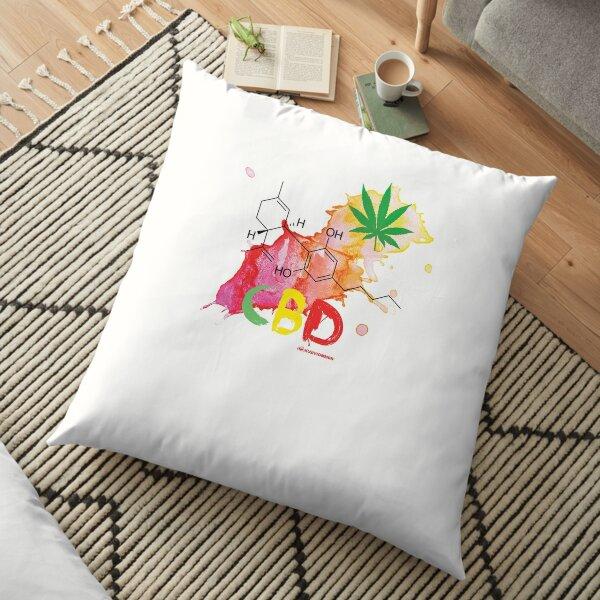 CBD Splash Floor Pillow