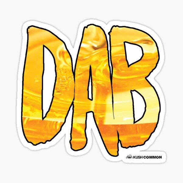 DAB Honey Glossy Sticker