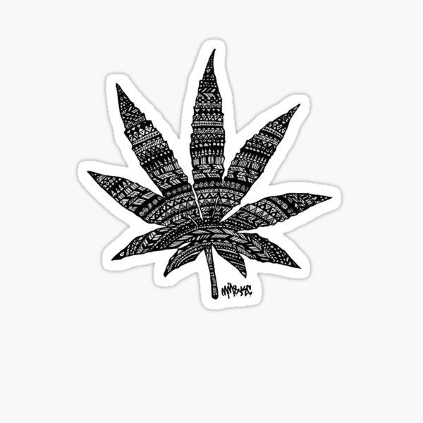 Chronic Leaf Sticker