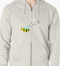 Bee Music Zipped Hoodie