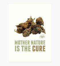 Mother Nature is the Cure Art Print