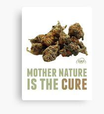 Mother Nature is the Cure Canvas Print