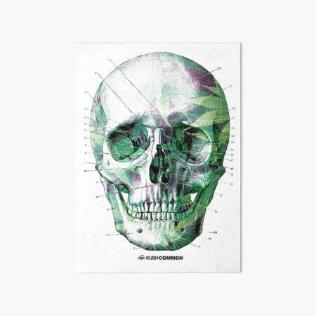 Pot Head Art Board Print