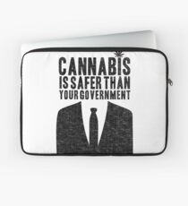 Cannabis is Safer Than Your Government Laptop Sleeve