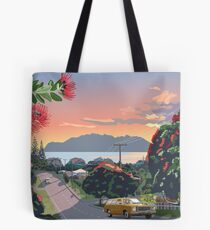 Great Barrier Island - Road to Leigh Tote Bag