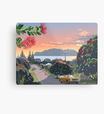 Great Barrier Island - Road to Leigh Metal Print