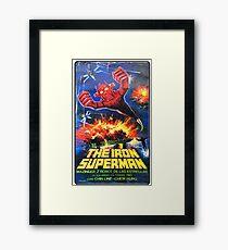Iron Superman Framed Print