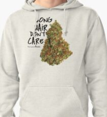 Long Hair Don't Care Pullover Hoodie