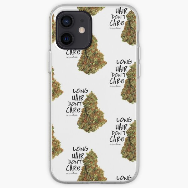 Long Hair Don't Care iPhone Soft Case