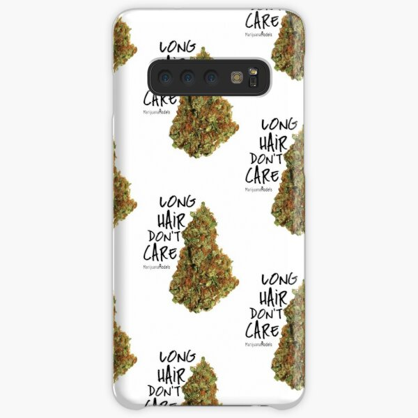 Long Hair Don't Care Samsung Galaxy Snap Case