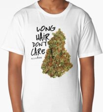 Long Hair Don't Care Long T-Shirt