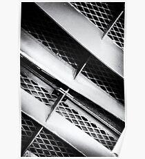 Angle of Venting III Dash Line Poster