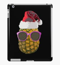 Funny Hawaiian Christmas Ananas Santa Hat Gift iPad Case/Skin