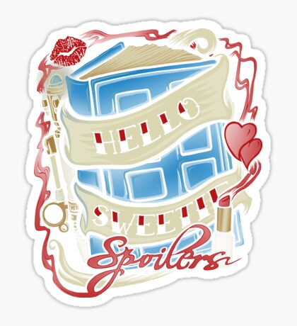 Hello Sweetie (pillow) Sticker