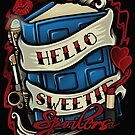 Hello Sweetie (pillow) by Ameda
