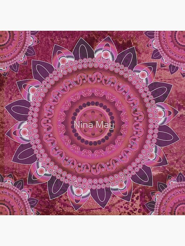 Rose Sea Mandala by ninabmay