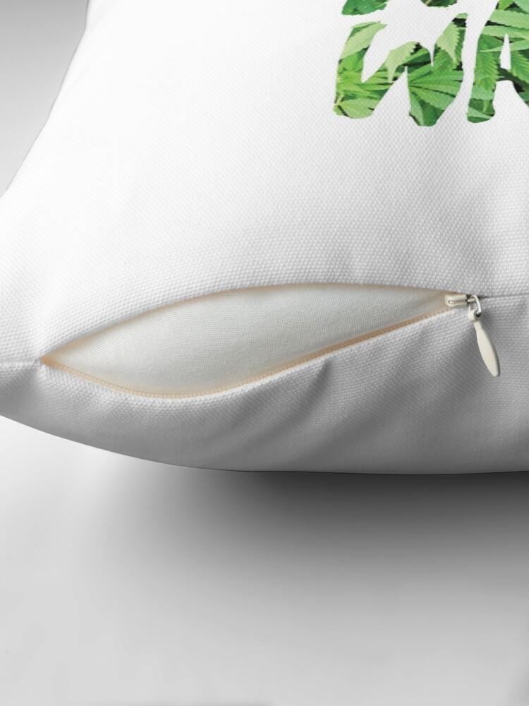 Alternate view of Weed Not War Floor Pillow