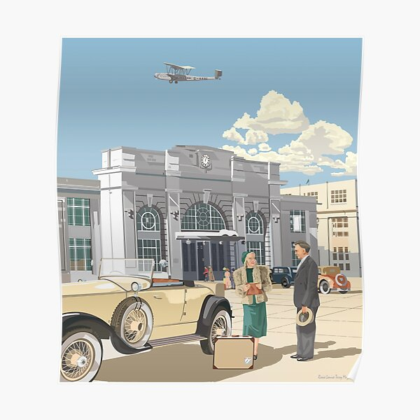 Croydon Aerodrome, 1932 Poster