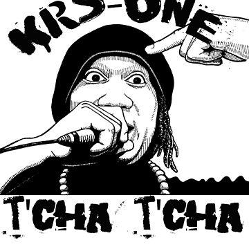 T'Cha T'Cha Krs-One Old School Hip Hop Shirt by SaintSinnerShop