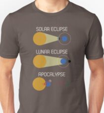 Eclipse Or Apocalypse: Funny Solar Eclipse Science T-Shirt T-Shirt
