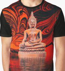 Buddha on a Lake Graphic T-Shirt
