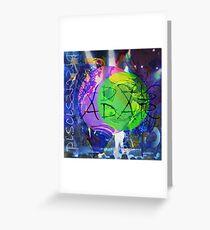 Piscis - Adar Greeting Card
