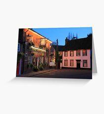 The Queens Head, Chesham, Buckinghamshire Greeting Card