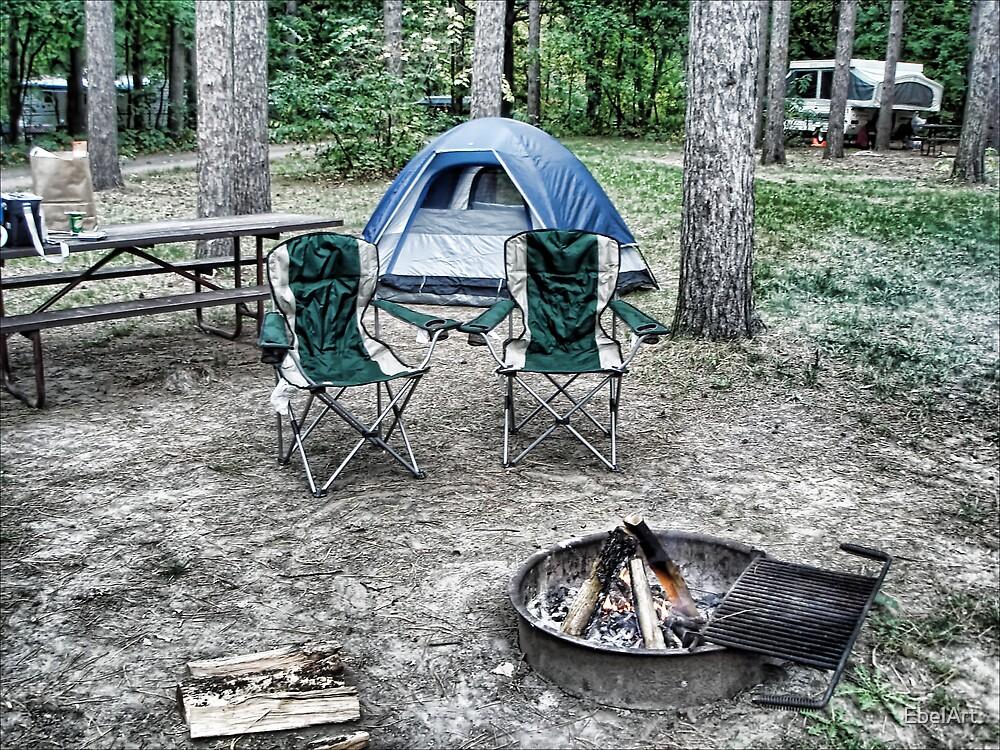 Camping by EbelArt