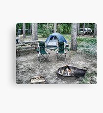 Camping Canvas Print