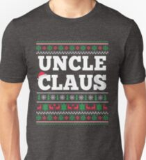 Uncle Claus Matching Family Christmas Ugly Sweater  T-Shirt