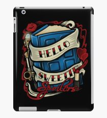 Hello Sweetie (sticker) iPad Case/Skin