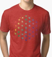 Flowers of Life Tri-blend T-Shirt