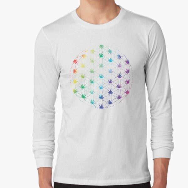 Flowers of Life Long Sleeve T-Shirt