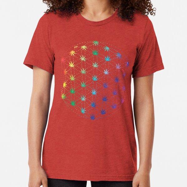 Flowers of Life Tri-blend T-Shirt