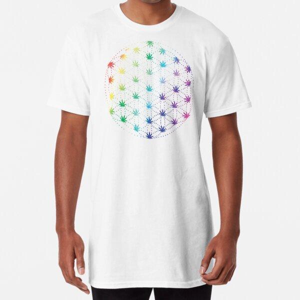 Flowers of Life Long T-Shirt