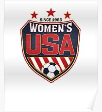 USA Women's Soccer National Shield since 1985 Poster