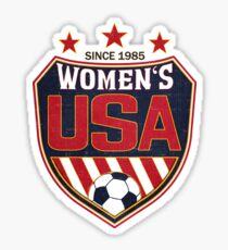 USA Women's Soccer National Shield since 1985 Sticker