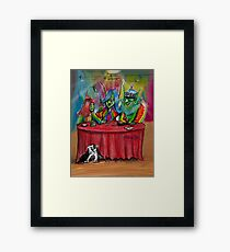 Goblin Table Top Gamer Family Design Framed Print
