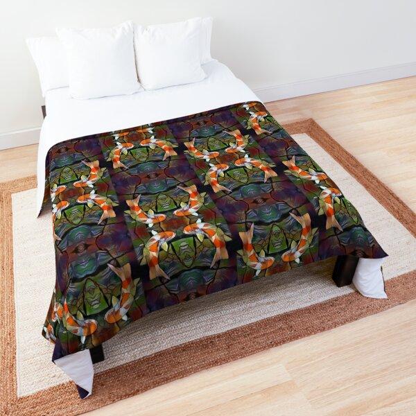 Koi Pond Comforter