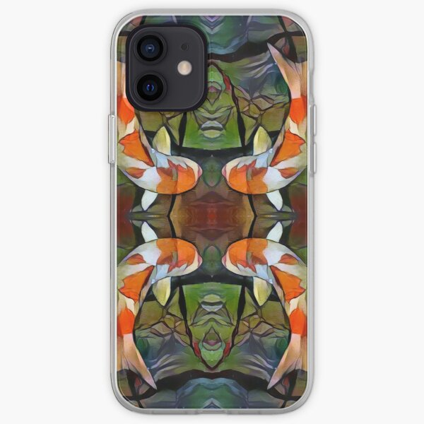 Koi Pond iPhone Soft Case