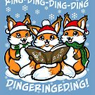 """What does the Fox Sing""  (sticker) by Ameda"