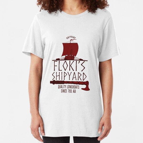 Floki's Shipyard Slim Fit T-Shirt