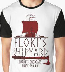 Floki's Shipyard Graphic T-Shirt