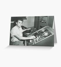 Sam Phillips Greeting Card