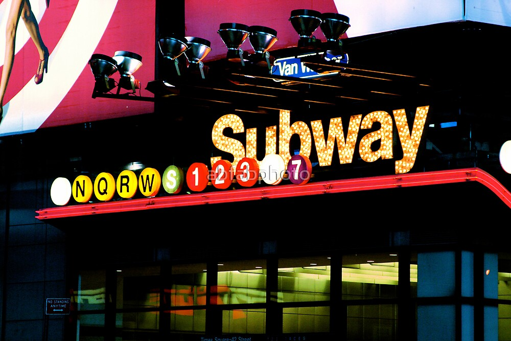 New York City Subway by abfabphoto