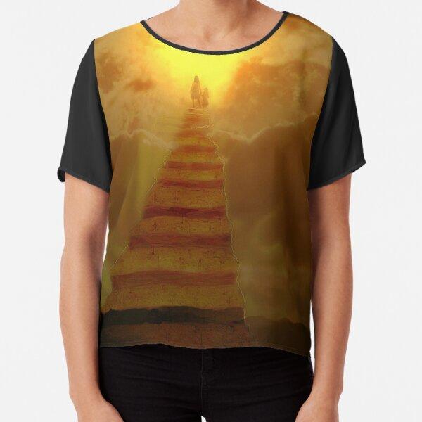 Stairway to heaven Chiffon Top