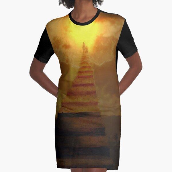 Stairway to heaven Graphic T-Shirt Dress