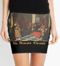Official merchandise of the Dracula Chronicle (draculachronicle.com) Mini Skirt