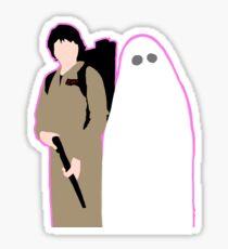 Minimalist Halloween Mileven  Sticker