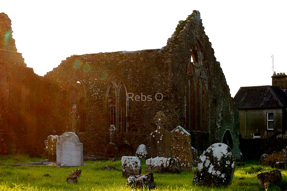 The Old Priory by Rebs O